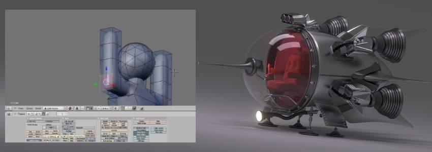 Descargar Blender programa de diseño 3d gratuito