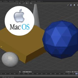 blender MacOS apple