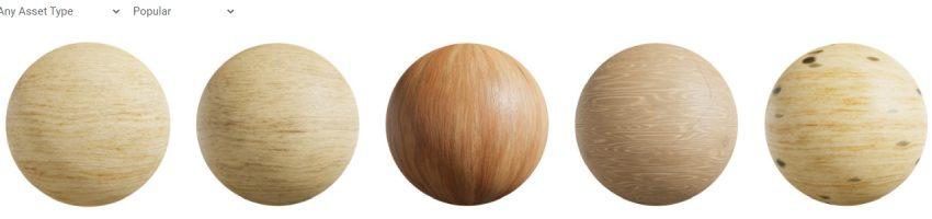 Madera blanca en de pino y conifera en textura PBR