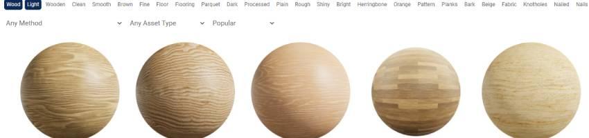 efecto madera suave como textura para blender