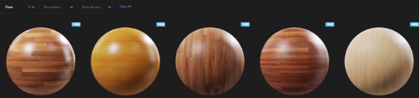 madera de roble en textura para blender
