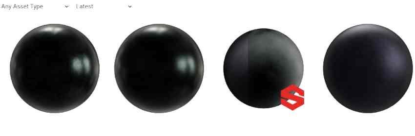 textura de metal negro para blender