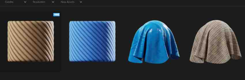 Tejidos y texturas industriales para modelado 3D