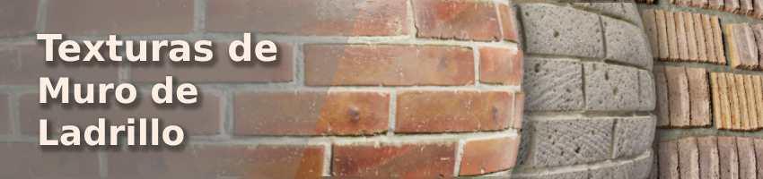 Textura de muro de ladrillo para modelado en Blender