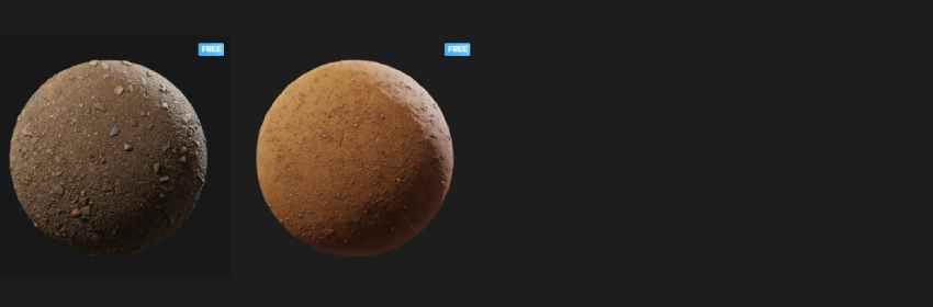 Texturas de suelo con piedras para modelado 3D