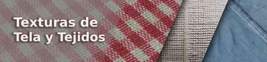 Texturas de tela y tejidos