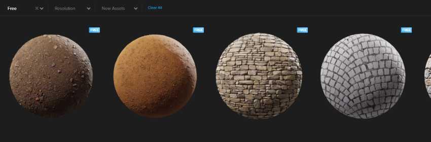 colección de texturas de piedras para render