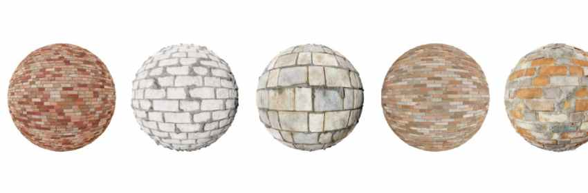 imagenes de textura de piedra en ladrillos para paredes en 3D HD