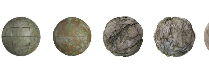 piedra en textura para modelar y renderizar