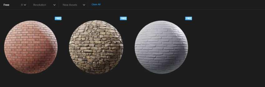 textura de pared de ladrillos para modelado 3D