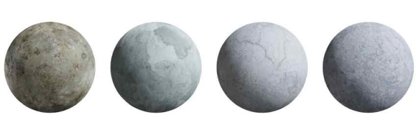 texturas de cemento alisado para modelado en blender 3d