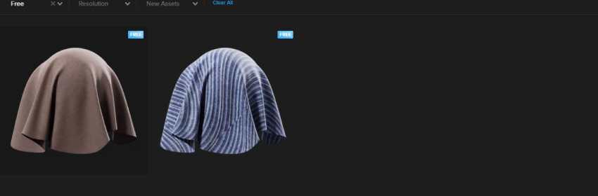 texturas de telas de punto para diseño 3D en Blender