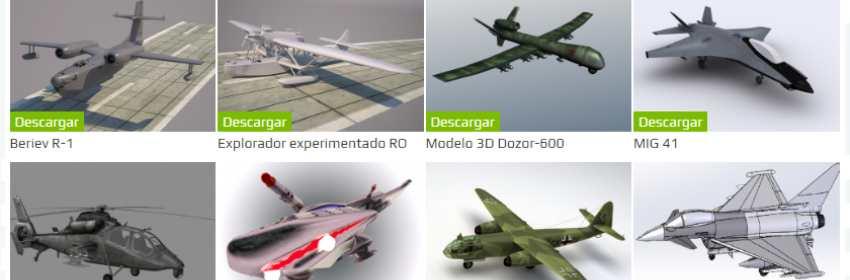 modelos 3d para blender de aviones de cargo militar